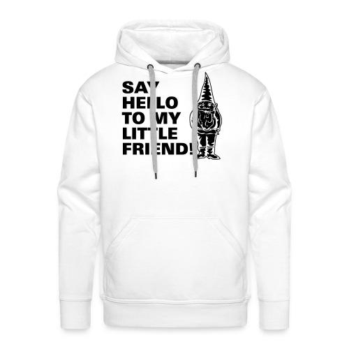 SAY HELLO Men's Hooded Sweatshirt - Men's Premium Hoodie