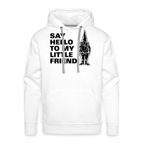 SAY HELLO Men's Hooded Sweatshirt - Men's Premium Hoodie