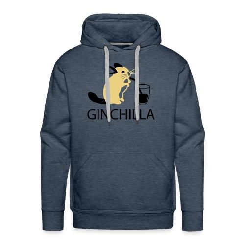 GINCHILLA Men's Hooded Sweatshirt - Men's Premium Hoodie