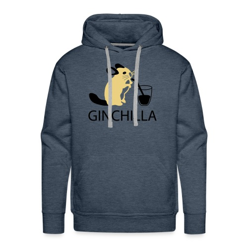 GINCHILLA Men's Hooded Sweatshirt - Men's Premium Hoodie