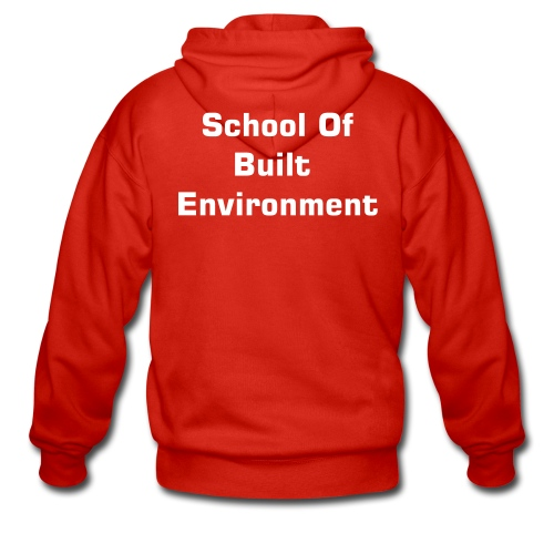 School of Built Environment Hoody-Choose your colour! - Men's Premium Hooded Jacket