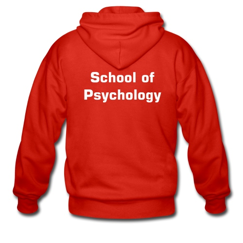 School of psychology hoody-choose your colour! - Men's Premium Hooded Jacket
