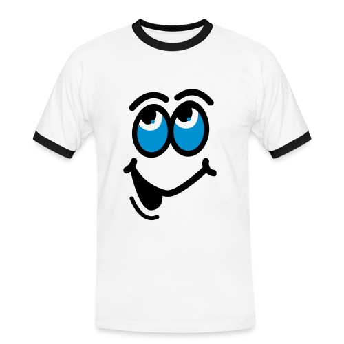 Smiley - Men's Ringer Shirt