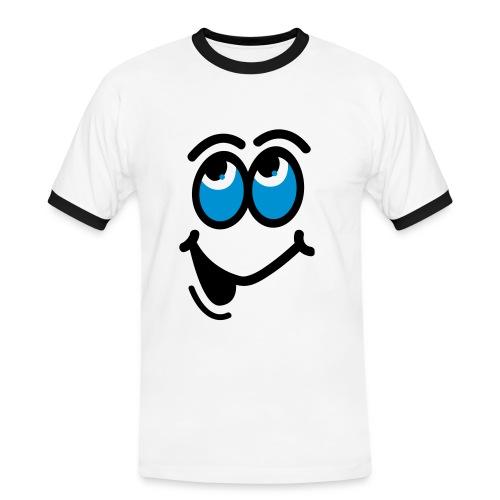 Smiley - Men's Ringer Shirt