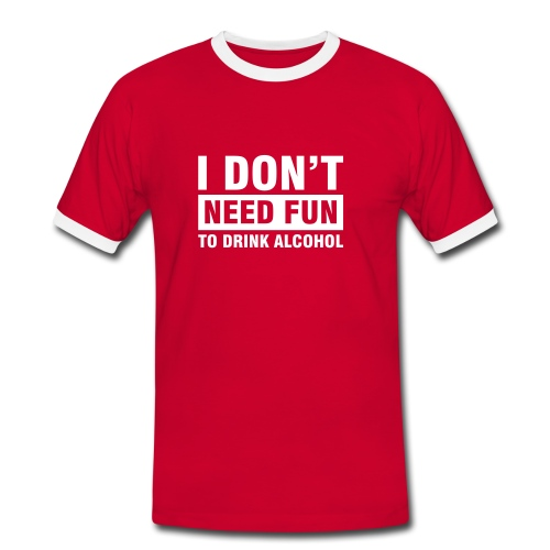 Drinking fun - Men's Ringer Shirt