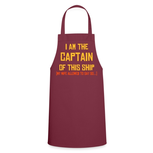 'I'm the Captain' - Cooking Skirt - Cooking Apron