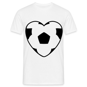 Football Love T shirt - Men's T-Shirt