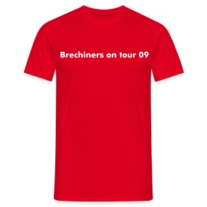 Brechiners on tour 09 - Men's T-Shirt