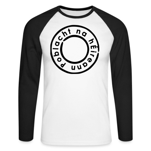 IWF Raglan - Men's Long Sleeve Baseball T-Shirt