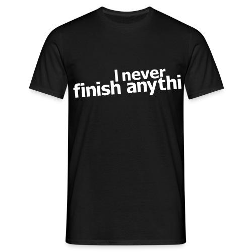Never - T-skjorte for menn