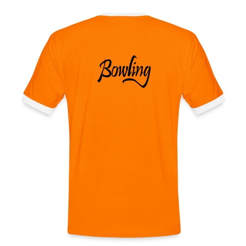 orange contrast t-shirt - Men's Ringer Shirt