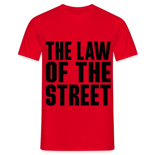streetwhere law44dk512 - T-shirt Homme