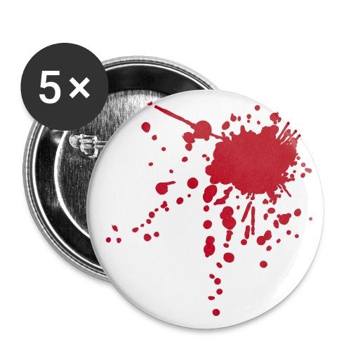 Blood Badge - Buttons/Badges stor, 56 mm