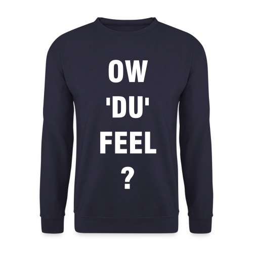 Ow'du'feel Mens Navy Blue Jumper - Men's Sweatshirt