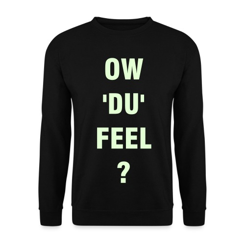Ow'du'feel Mens JumperBlack/white(Glow In The Dark) - Men's Sweatshirt