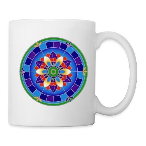 Mandala Motiv Nr. 05 - Tasse