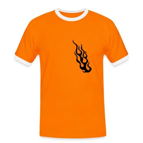 Men's T - Shirt - FLAME - Men's Ringer Shirt