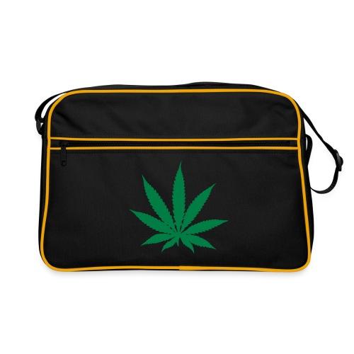 for dem der kan lide at ryge en fed  - Retro taske