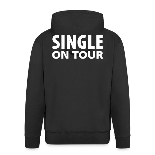 Single on tour - Premium Hettejakke for menn