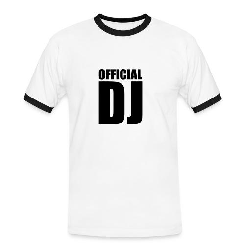 official DJ - T-shirt contrasté Homme