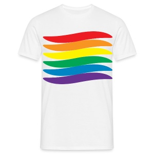 Gay Pride Flag Design - Men's T-Shirt