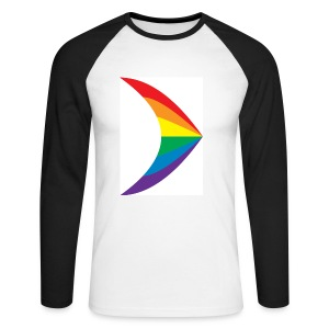 Rainbow Design - Men's Long Sleeve Baseball T-Shirt