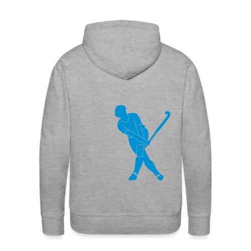Hockey Kapuzen_boys (back) - Männer Premium Hoodie