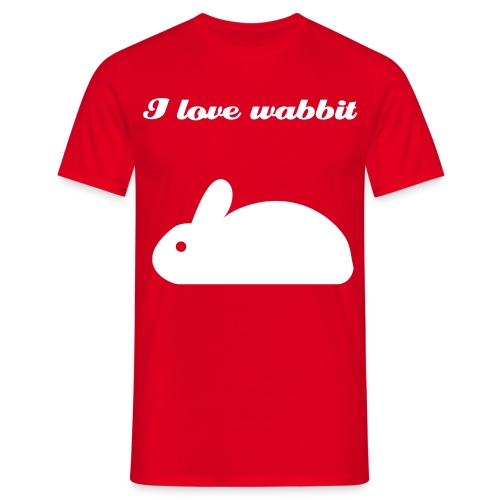 wabbit - Men's T-Shirt
