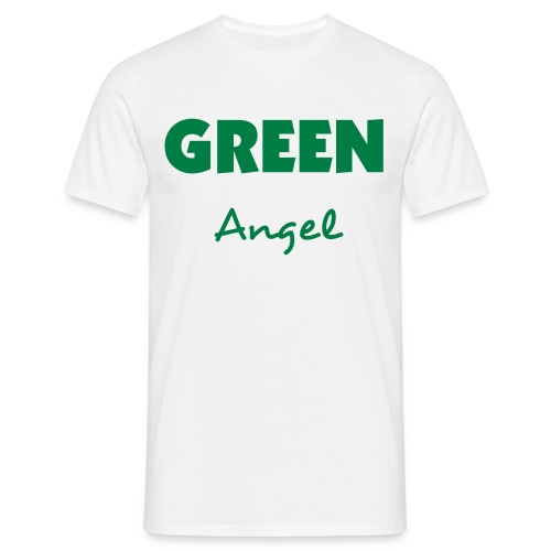 EARTHeart Green Angel - Men's T-Shirt