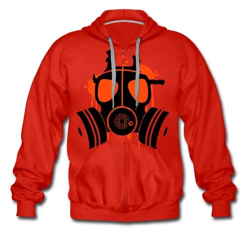 mask jack 2 - Men's Premium Hooded Jacket