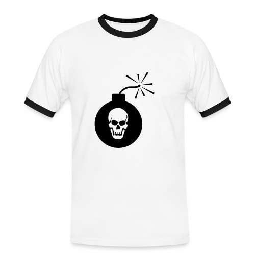 pirate bomb - Men's Ringer Shirt