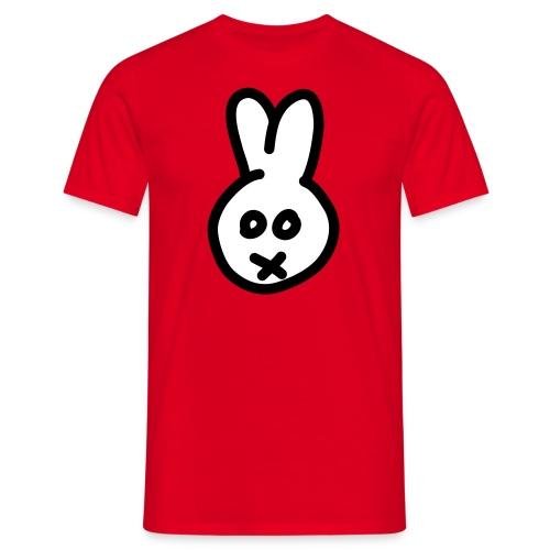 Bunny2c - red shirt - Männer T-Shirt