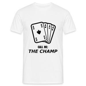 Men`s Classic ''THE CHAMP'' t-shirt  - Men's T-Shirt