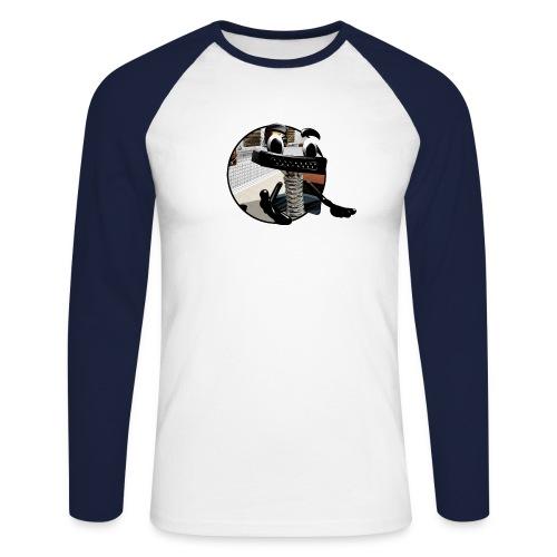 Teleporter - Männer Baseballshirt langarm