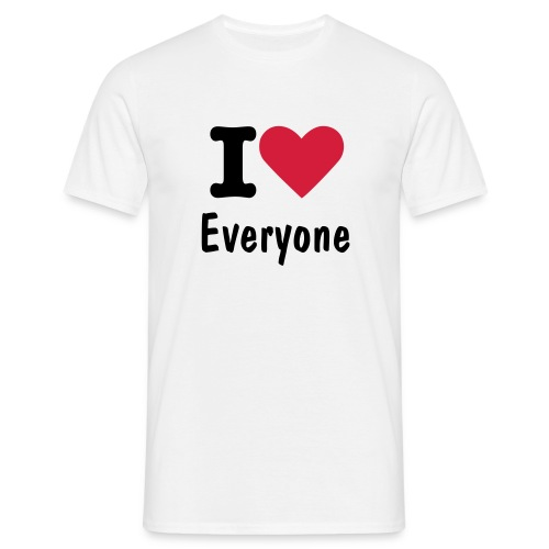 i love - Men's T-Shirt