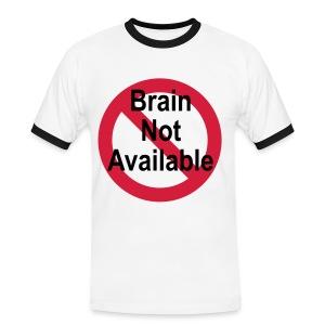 I <3 Shirt - Miesten kontrastipaita