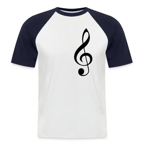 I <3 Shirt - Miesten lyhythihainen baseballpaita