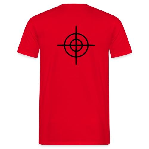 T-Shirt Cible (dos) - T-shirt Homme