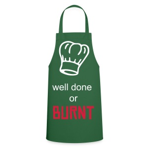 well done or burnt? - Cooking Apron
