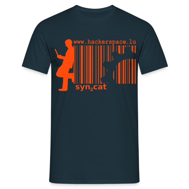syn2cat shirt (orange-navy edition)