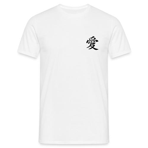 Aimer en chinois - T-shirt Homme