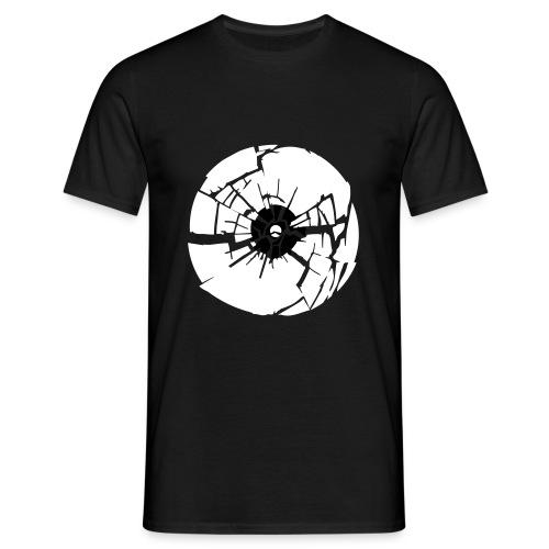 Broken vinyl - Mannen T-shirt
