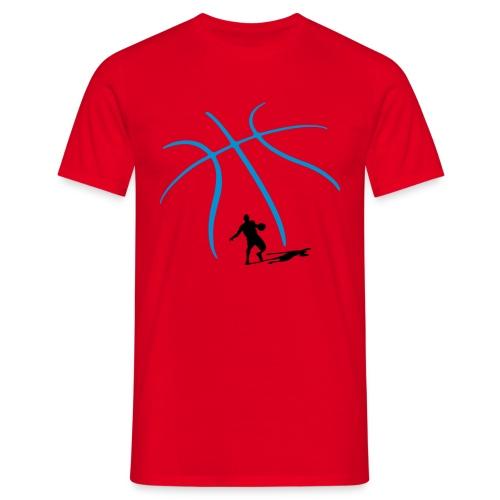 ShadowedBasketball T-skjorte - T-skjorte for menn