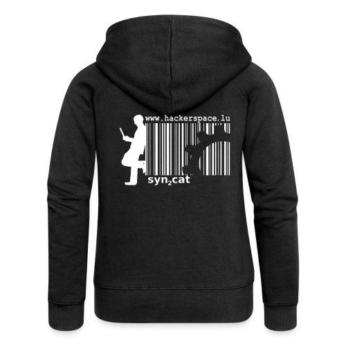 syn2cat for girls - Women's Premium Hooded Jacket
