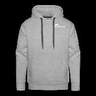 Pullover & Hoodies ~ Männer Premium Kapuzenpullover ~ Männer Hooded Sweatshirt mit Logo Front + Rücken