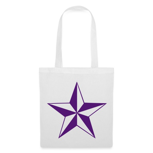 rock out natucial star tote - Tote Bag