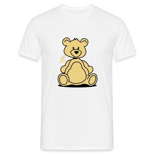 Teddy (sand & black) - Men's T-Shirt