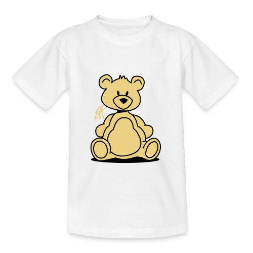 Teddy (sand & black) - Teenage T-Shirt