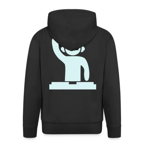 Hardstyle DJ - Reflex - Men's Premium Hooded Jacket