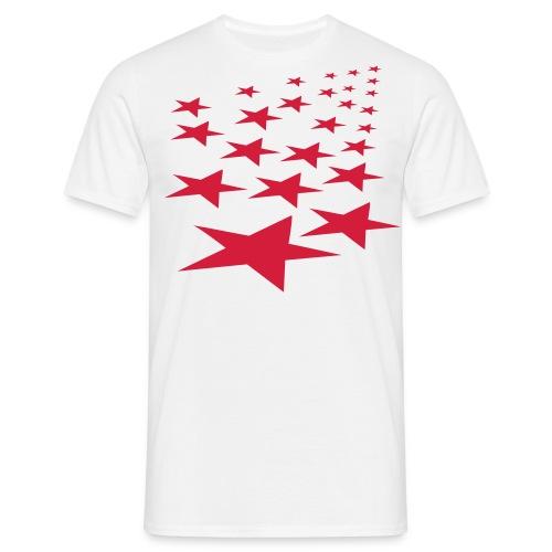 Red stars - Männer T-Shirt